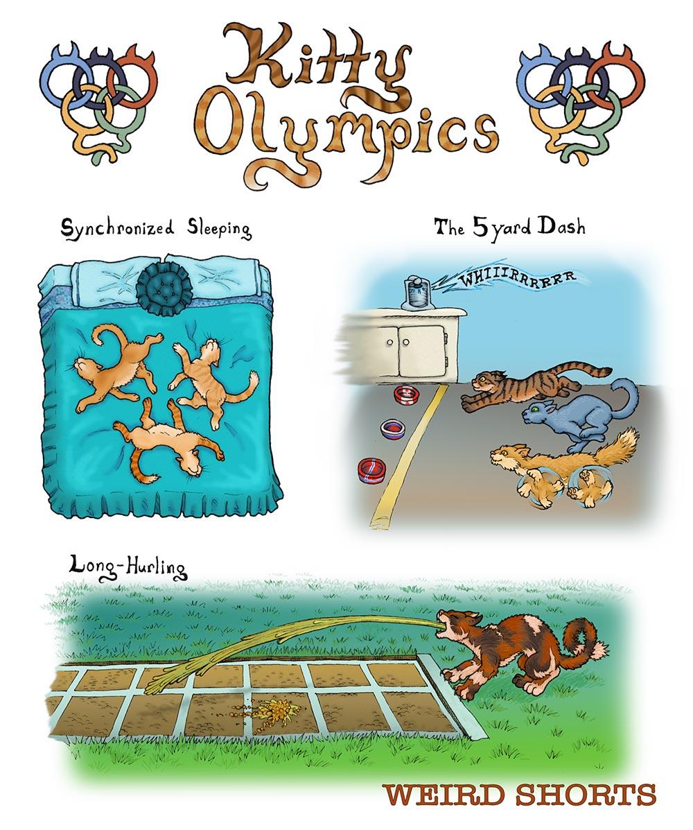 Kitty Olympics 1