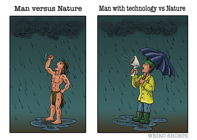 Man vs Nature